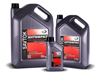 Antifiriz SAVTOK OPTIMA RED  1L