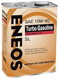 ENEOS 10W40 4L Turbo Gasoline