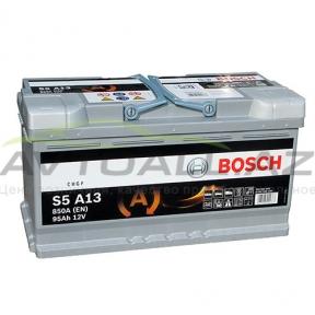 Bosch 95Ah R+ AGM S5 A13