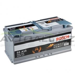 Bosch 105Ah R+ AGM S5 A15