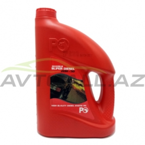 P.O S-Dizel 20w50  4L