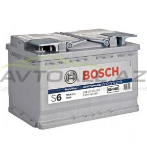 Bosch  70Ah R+ AGM S6 008